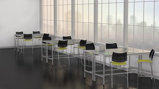 Mayline e5 Standing Height Table   715.00