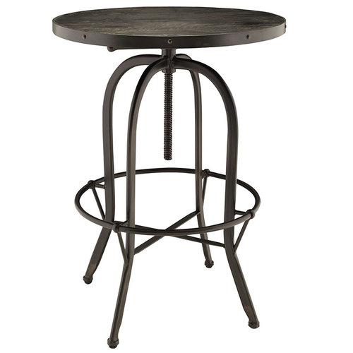 Modway Sylvan Wood Top Bar Table   371.00