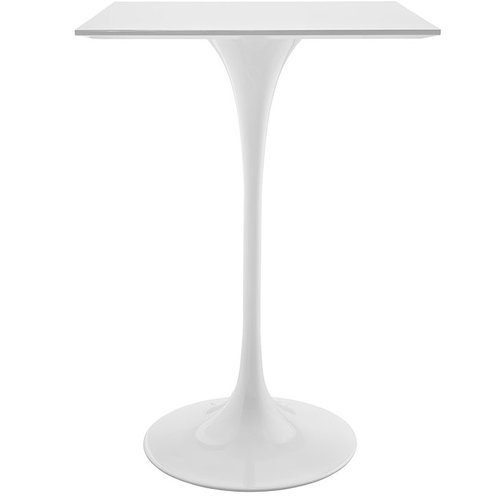 Modway Lippa Square Wood Top Bar Table   406.00
