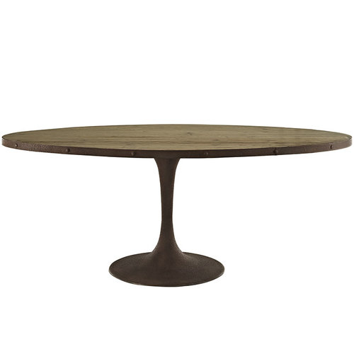 Modway Drive Oval Wood Top Dining Table   1,422.00