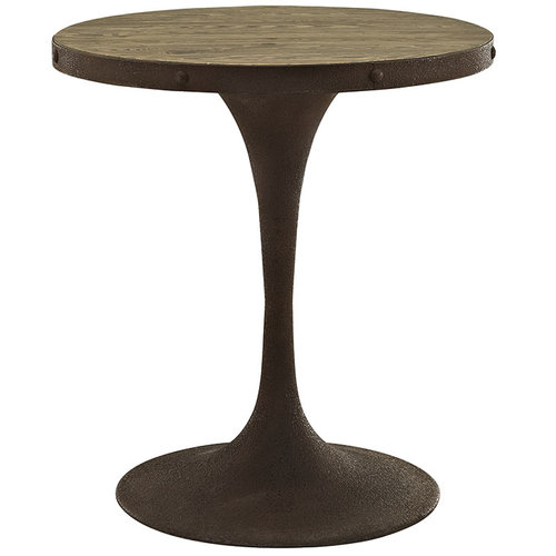 """Modway Drive 28"""" Round Wood Top Dining Table   512.00"""