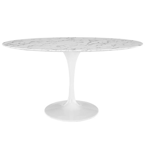 """Modway Lippa 60"""" Oval Dining Table   746.00"""