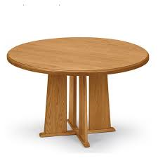 Quick Overview   Round Conference offers handcrafted solid oak, including table tops for structural integrity and enduring beauty. Matching chairs available with or without casters and five step hand rubbed finish.