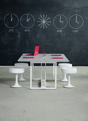 Quick Overview   Cal's the kind of guy who has a knack for bringing people together. With his good looks, full knee clearance around the table, and convenient access to power along the center spine, this conference table is at the center of all the best conversations.