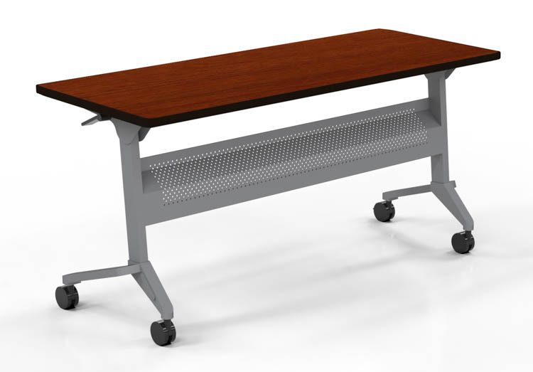 Quick Overview   Flip-N-Go Tables are an excellent solution for your training or conference room needs - just roll the tables into place and lock the casters, gang them if you like, store in straight-line nesting.