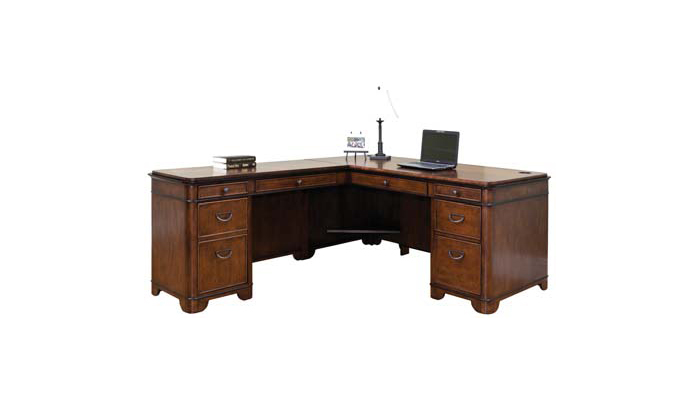 Martin Kensington Series Traditional L-Desk   2,653.00