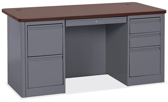 COE 900 Series Double Full Pedestal Desk   1,999.00