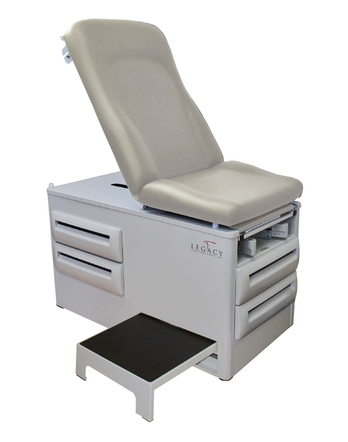 LEGACY Encompass Manual Exam Table with Side Step   1,670.00