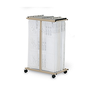 Mayline Vertical Files Expandable File Cart   369.00
