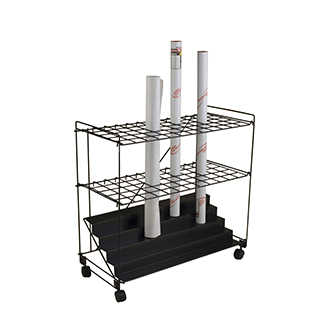 Mayline 60 Wire Roll File Cart   137.00