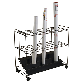 Mayline 36 Wire Roll File Cart   131.00
