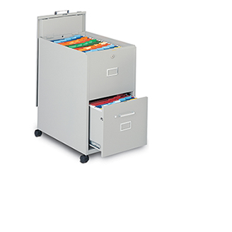 Mayline 2-Drawer File with Lid Mobilizer   203.00