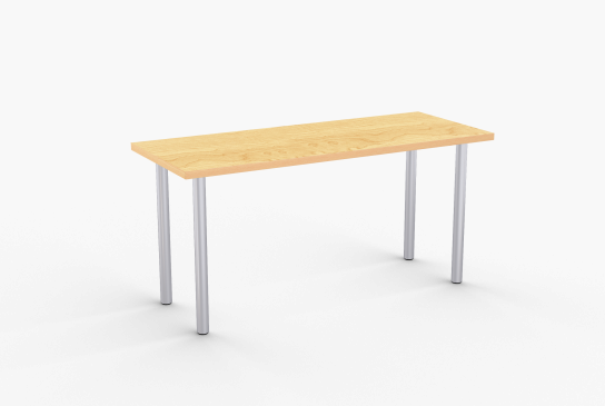 Overview   Ella is a versatile table appropriate for many applications and complements a variety of design styles. Its flexibility allows you to create your own table by selecting one of four leg diameters and several top shapes including rectangular, round and square.