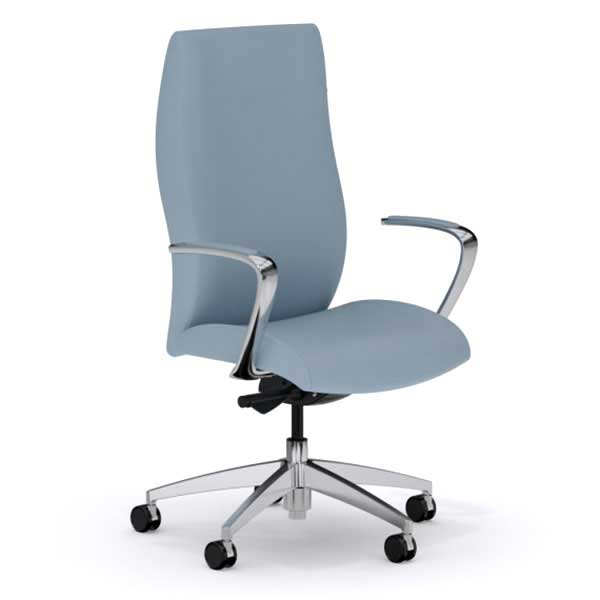 Quick Overview   A perfect balance of contemporary and classic European styling, acclaim impresses with ergonomic features that provide a supple response to your body's movements. Dual density foam layer construction provide long hours of plush yet firm support, making those office late night hours a cheer, not a chore. Acclaim offers passive or active ergonomic functions, allowing for maximum freedom of ergonomic seat configuration, adjustments and control. With multiple control options and arm/base selections, acclaim can be configured to fit your style and meet all your office needs.