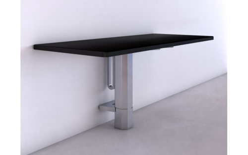 Quick Overview   The Espree™ is a pneumatic table base.  Designed to fluidly adjust while equipped with all of your workstation essentials, the Espree supports quick and effortless sit-to-stand adjustments.  Available base finishes: silver - SLV, black- BLK (LT), or white - WHT (LT).