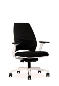 Via 4u Slim Line Groove Back Chair