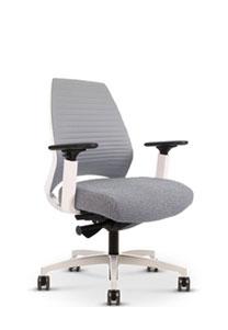 Via 4u Extra Comfort Groove Back Chair