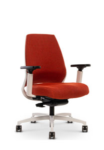 Via 4u Extra Comfort Upholstered Back Chair