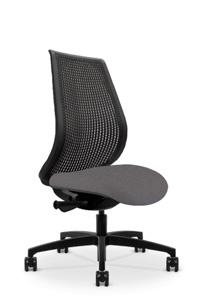 Via GenieFlex   Black Frame Chair