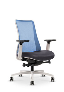 Via White Frame Chair