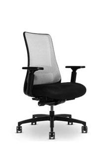 Via   Black Frame Chair