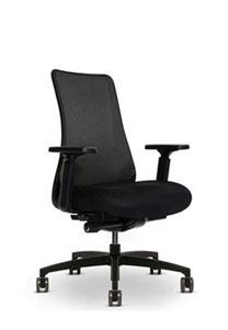 Via   Black Copper Mesh Chair