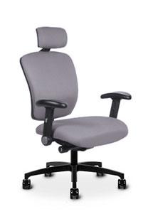 Via Mid Back with Headrest Chair