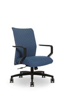 Via Proform Panel Stitch Mid Back Chair