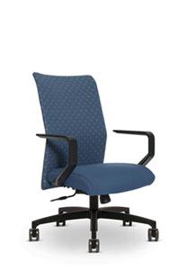 Via Proform Panel Stitch High Back Chair