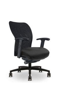 Via Vos Mesh Mid Back Chair