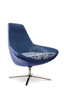 Via Astro Lounge Chair   (in vinyl)
