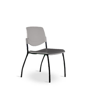 Via Sutro Soft Seat Stack chair