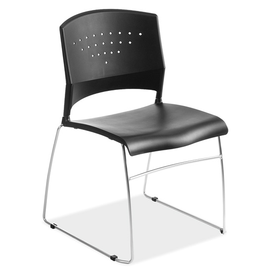 COE Stackable Side Chair with Chrome Frame   165.00