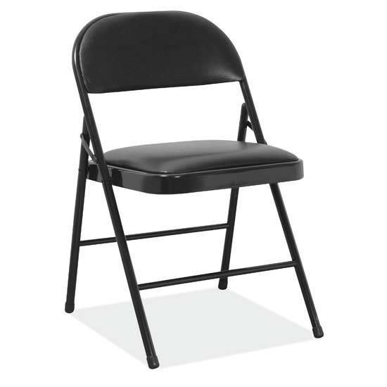 COE Steel Folding Chair with Padded Seat Back   288.00