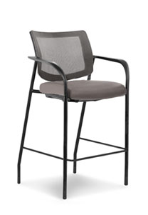 Via Mesh Back Bar Stool