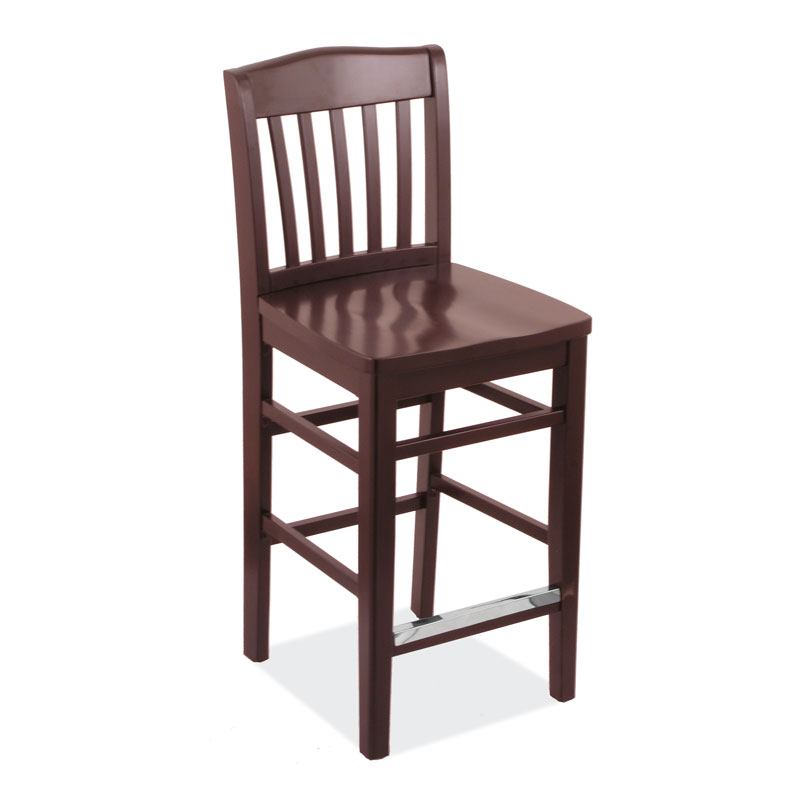 COE All Wood Bar Stool