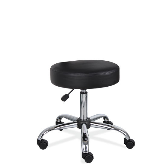 COE Medical Stool with Polished Chrome Base