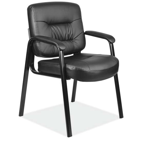 COE Executive Guest Chair with Black Frame