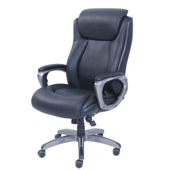 COE Executive High Back Chair with Smoke Gray Frame