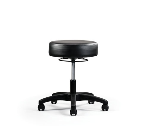 Neutral Posture Status Upholstered Stool   $148