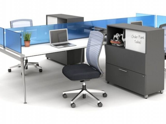 AIS Oxygen Benching with Screens and Natick Seating and Calibrate Storage