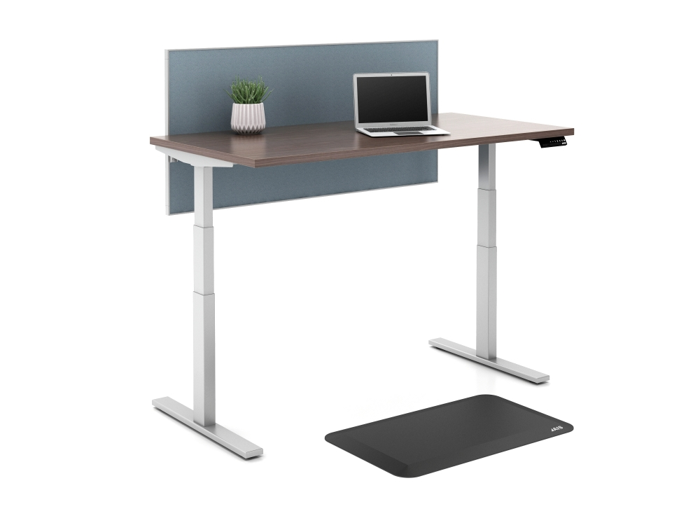 AIS Height Adjustable Table with AIS anti fatigue mat