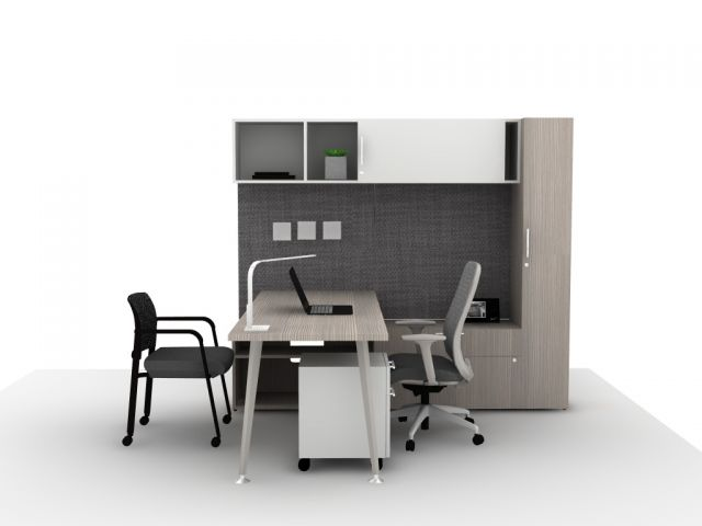 AIS Calibrate Casegoods Small Private Office