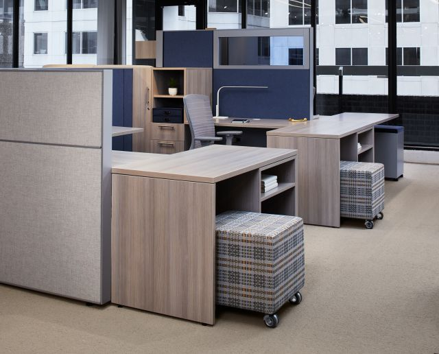 AIS Washington D.C. Showroom Matrix with Calibrate Storage and Volker Cube