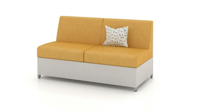 AIS LB Solid Base Lounge Seating Medium Height Back
