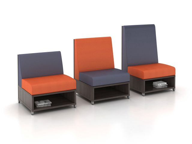 AIS LB Lounge Multiple Height Seating