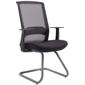 OFD EM5253-BLK Sled Base Guest Chair