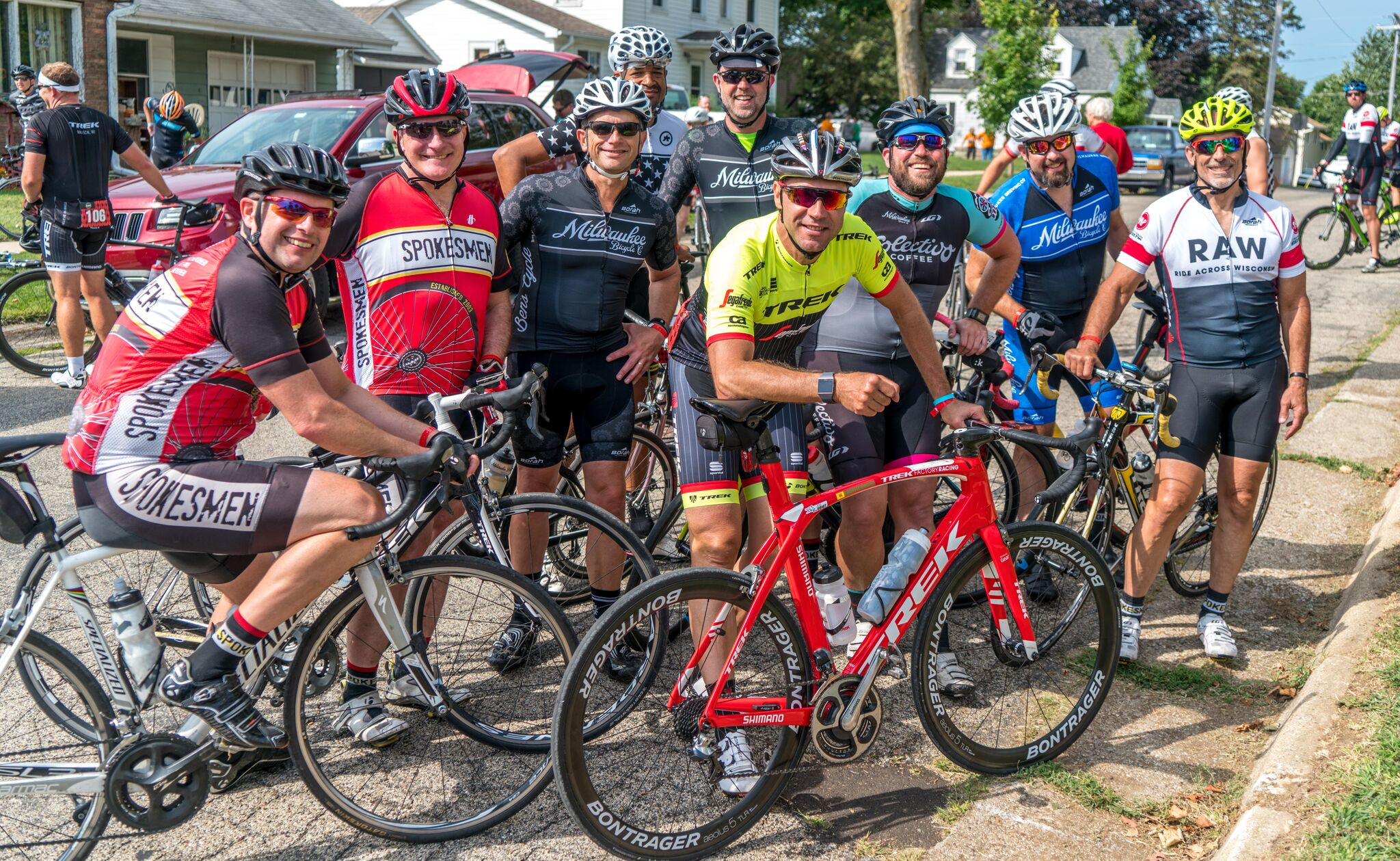 BEST People, Best Ride - The Ride Across Wisconsin attracts riders from around the country and world.