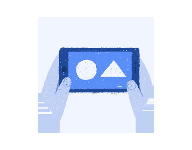 どこからもアクセス可能 - ニューロトラック認知機能テストは、iOSもしくはAndroid搭載のモバイル機器さえありば、どこからもアクセス可能です。