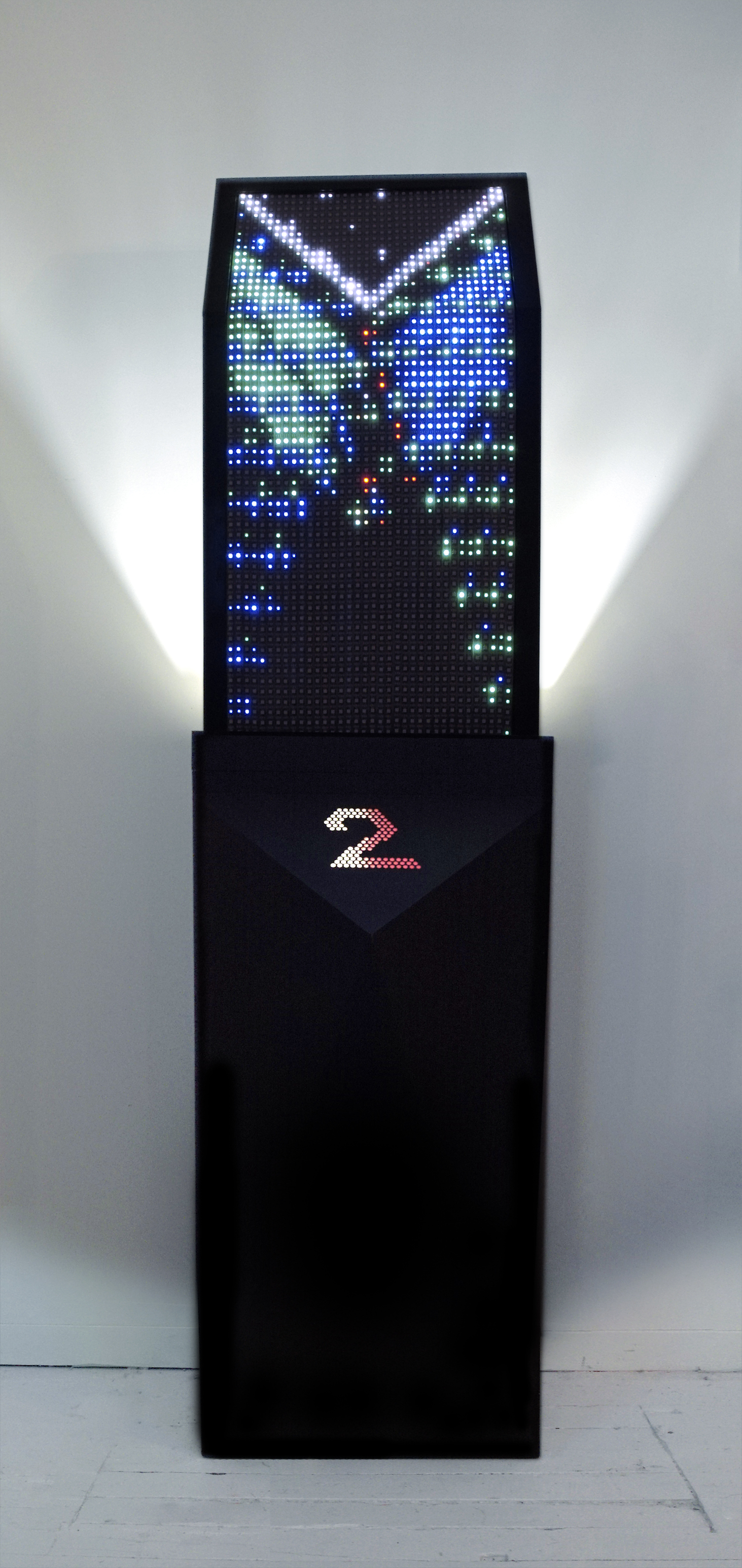 Pillar 02 stands at 8ft.